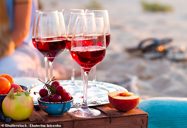 The case of wine that cost a reader £3,500 was on public sale for £2,250 (stock image)