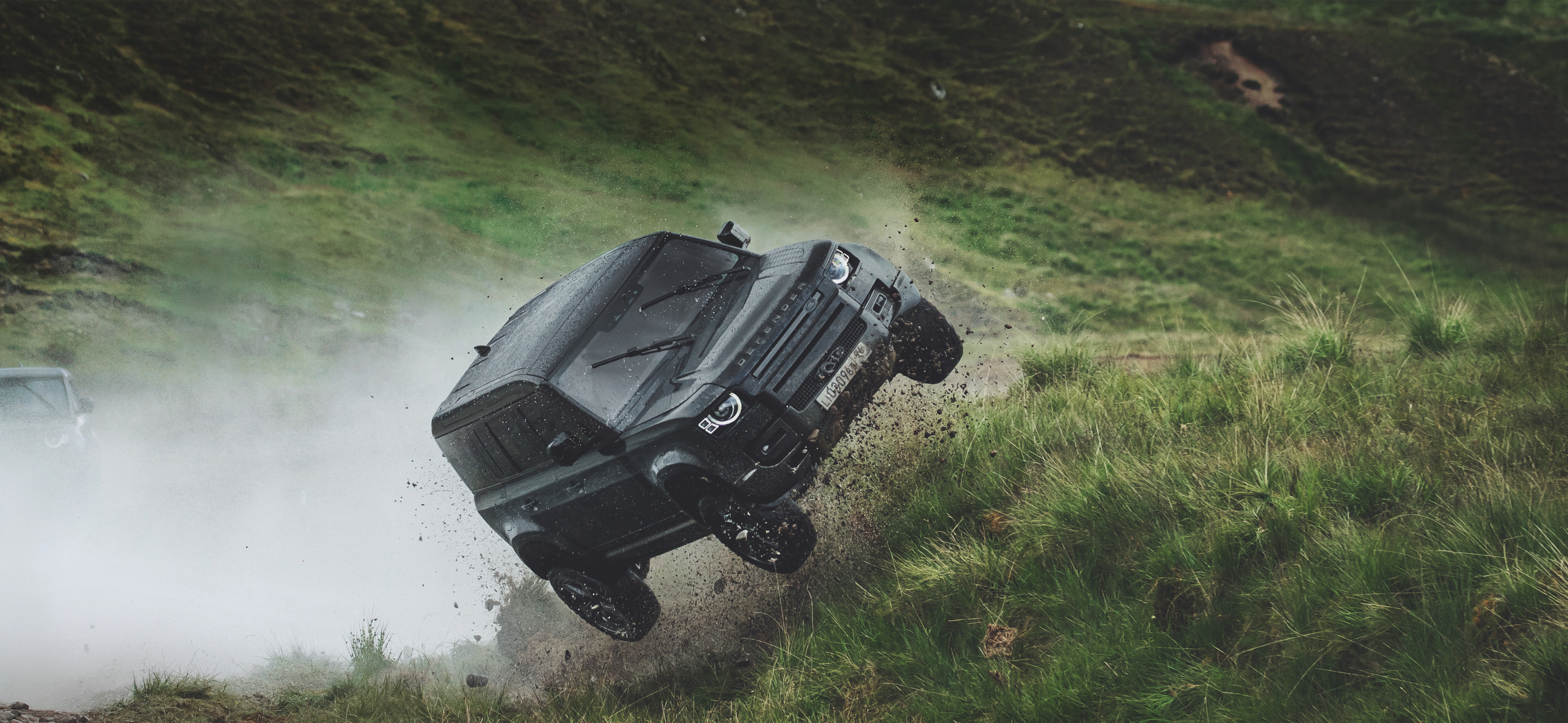 The hulking motor is put through its paces