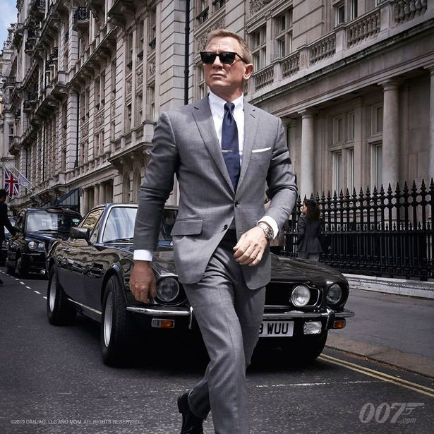 James Bond is set to get behind some classic motors in the upcoming film