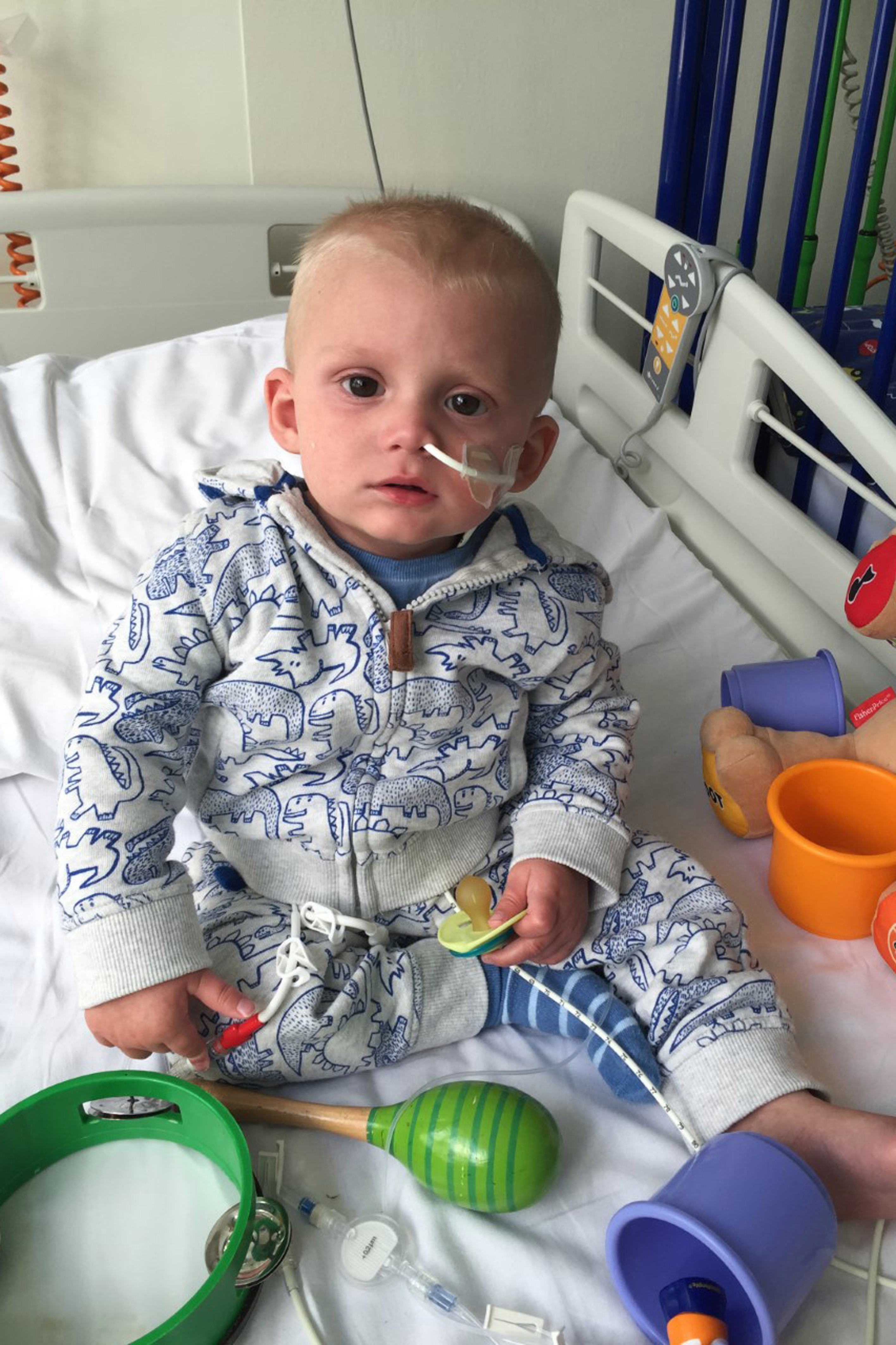 Alfie was unable to meet his donor due to strict privacy laws but as he got all-clear in 2017, he finally met the woman who saved 'the little angel'