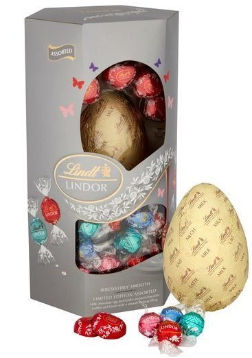 Save £5 on extra-large Lindt Lindor chocolate Easter eggs at Tesco