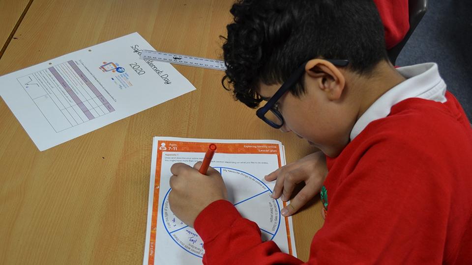 Safer Internet pupils