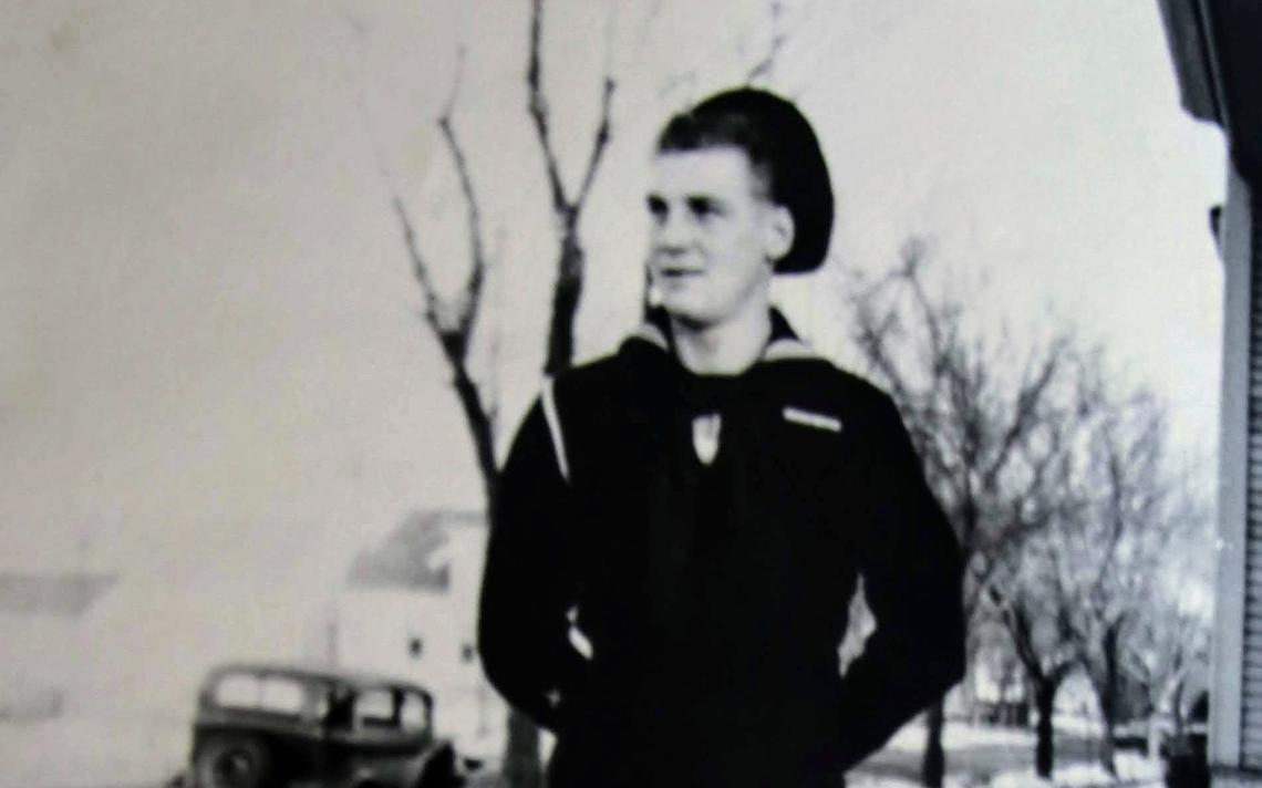 """Jerome """"Johnny"""" Johnson served on a U.S. Navy destroyer in World War II from 1942 to 1946. Courtesy of Wayne Johnson"""
