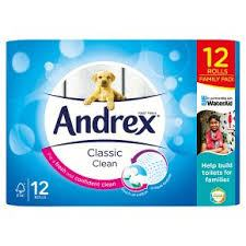 Stock up on your toilet roll from Andrex at Asda and save £2.15