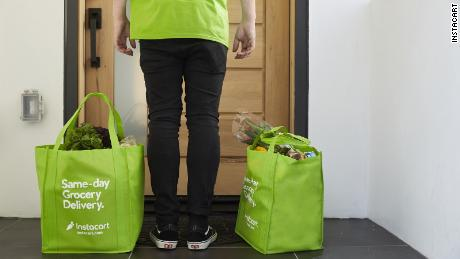 Instacart plans to hire 300,000 more workers as demand surges for grocery deliveries