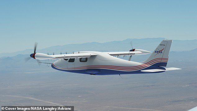 These concept art images depict NASA's first all-electric X-plane, the X-57 Maxwell, in several phases of operation at NASA's Armstrong Flight Research Center, located at Edwards Air Force Base in California