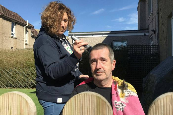 There are going to be 'some dreadful haircuts' as Britons turn their homes into makeshift salons