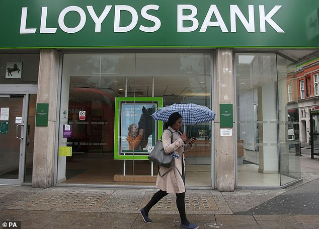 Angry customers: Lloyds bank wants to discourage 'non-essential' customer visits