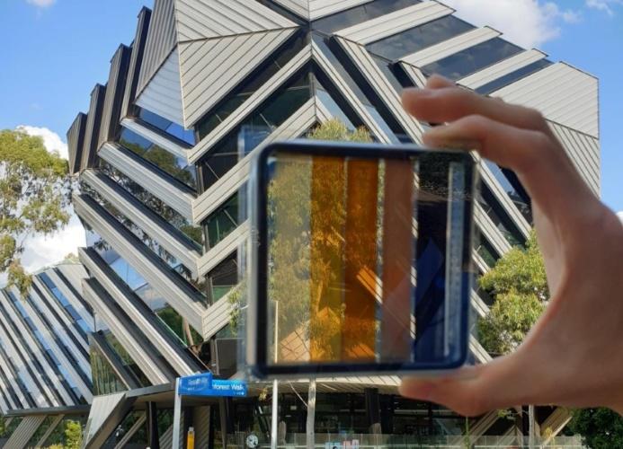 Semi-transparent solar cells