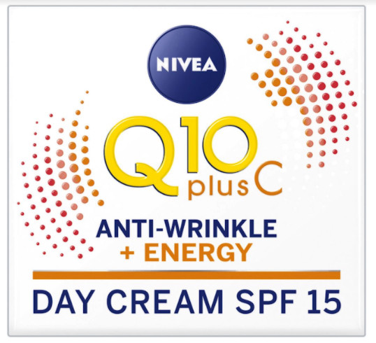 The Nivea Q10 face cream is £8.66, down from £12.99 at Boots