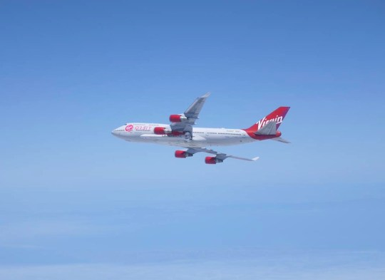 All seemed to be going well until moments after the rocket was released from the plane  (Virgin Orbit)