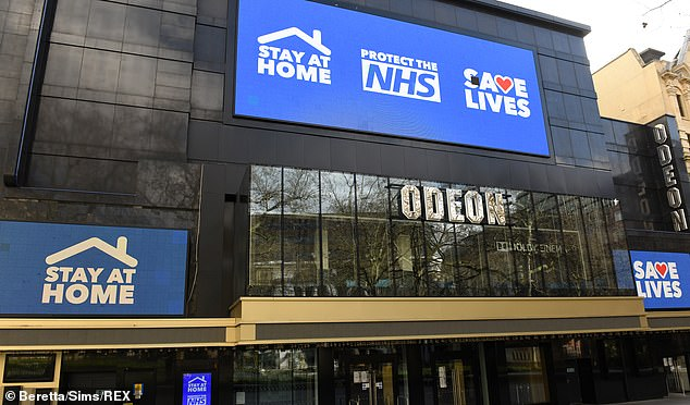 Tough times: The cinema sector has been hit hard by enforced closures amid the pandemic