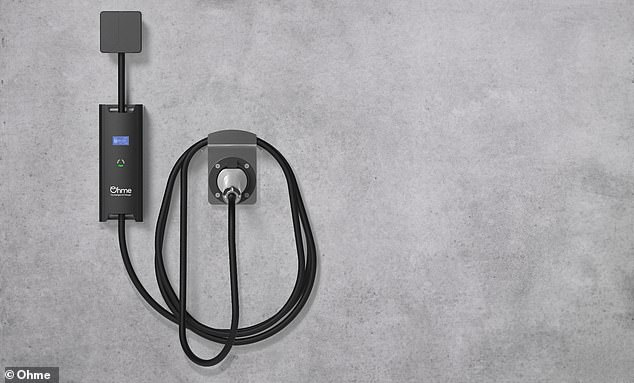 Ohme's smart cable can turn the charging on-and-off throughout the day or night to minimise the costs and take advantage of the lower energy prices