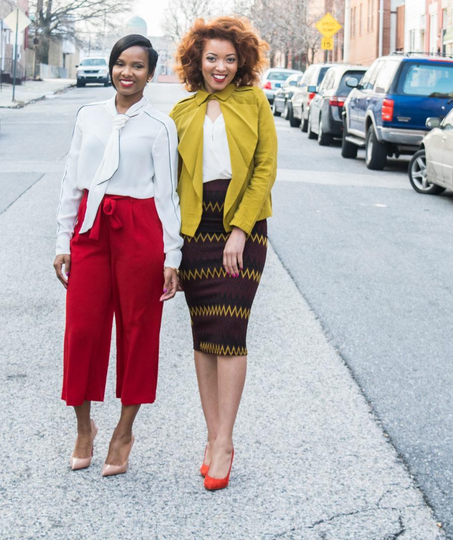 Moms as Entrepreneurs cofounders Jasmine Simms and Tammira Lucas.