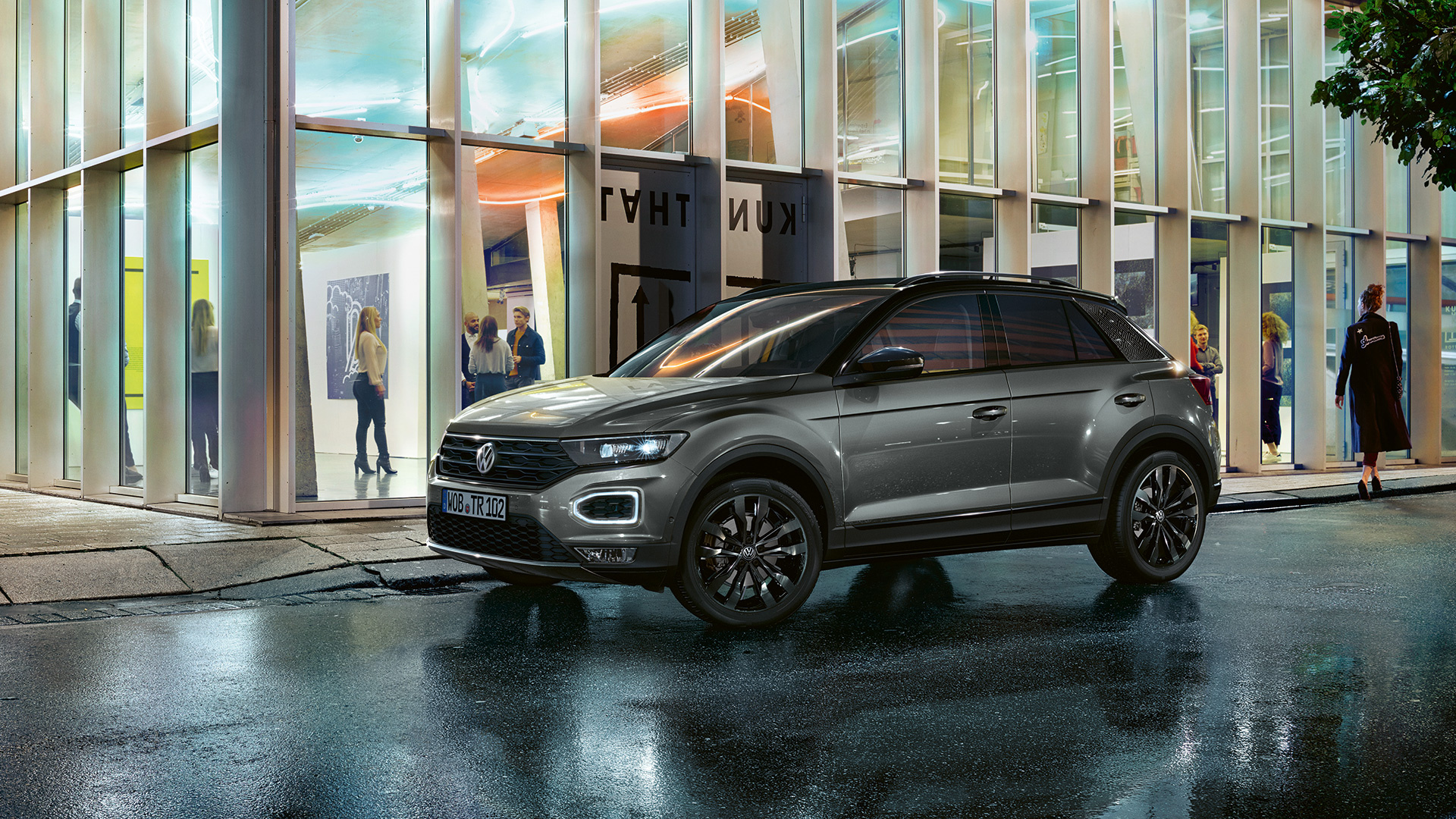 T-Roc is one of VW's most eye-catching models and you'll want the Black Edition more