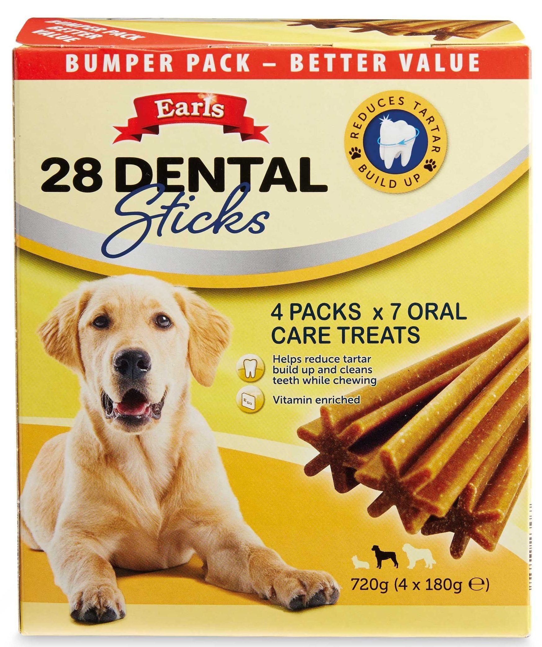 Aldi can help you to treat your pooch with these tasty dental sticks