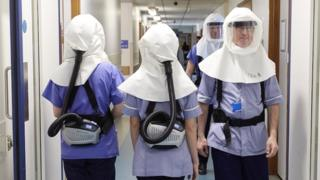 At the University of Southampton, engineers have developed a mask that they're supplying to University Hospital Southampton.