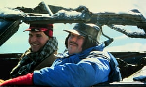 Steve Martin and John Candy in Planes, Trains and Automobiles.