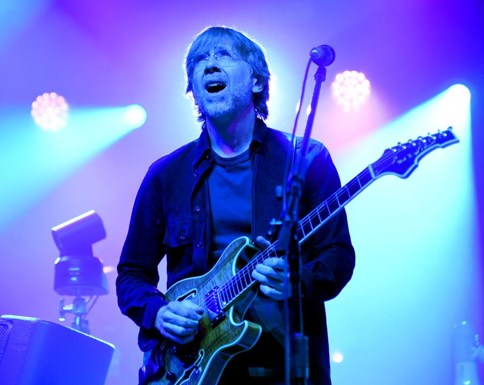 Phish Perform Live Exclusive Concert For SiriusXM And Pandora Listeners At The Met In Philadelphia