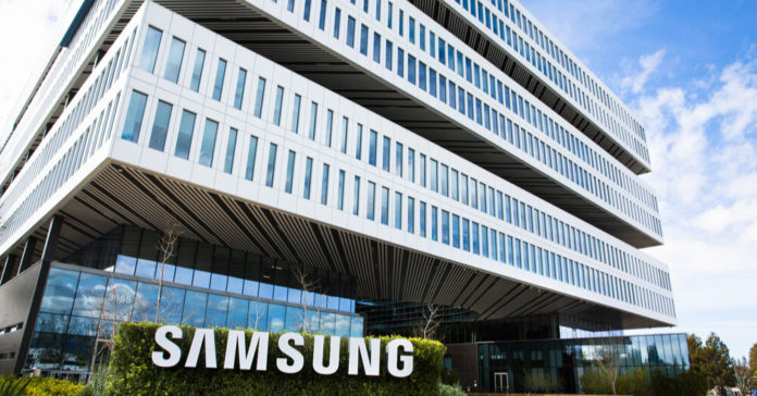 The Samsung building