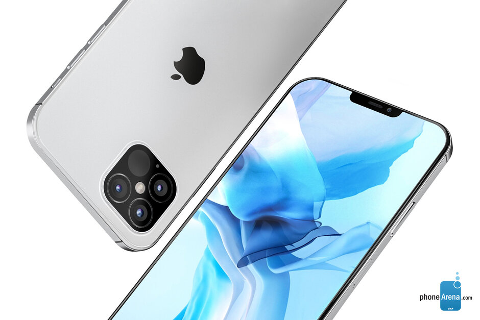Apple iPhone 12 Pro concept render - Apple iPhone 12 Max & 12 Pro to enter production in July; other 5G models to follow