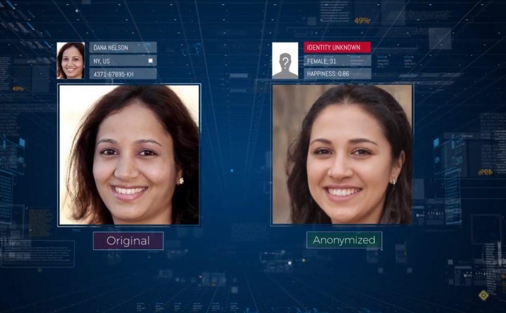 D-ID renders images unrecognizable to facial recognition algorithms. Screenshot
