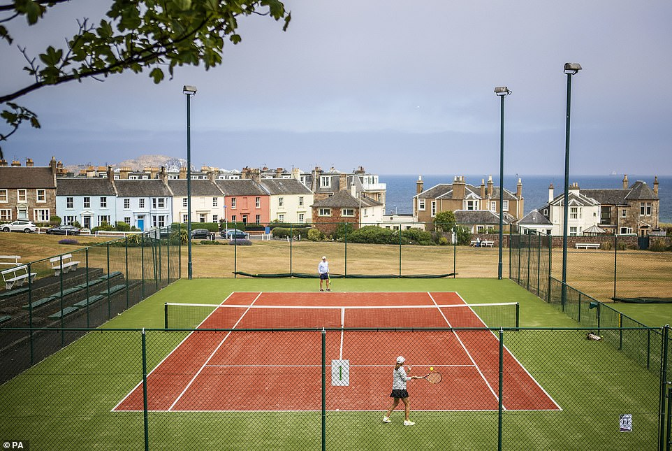Solo sports like tennis and golf are allowed in groups of up to six, with social distancing maintained and no sharing of equipment