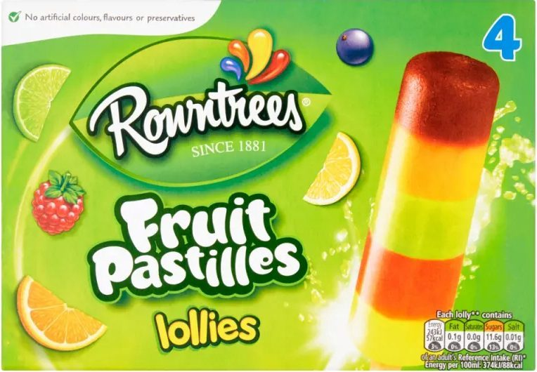 Rowntree's fruit pastille lollies are included in the deal at Co-op