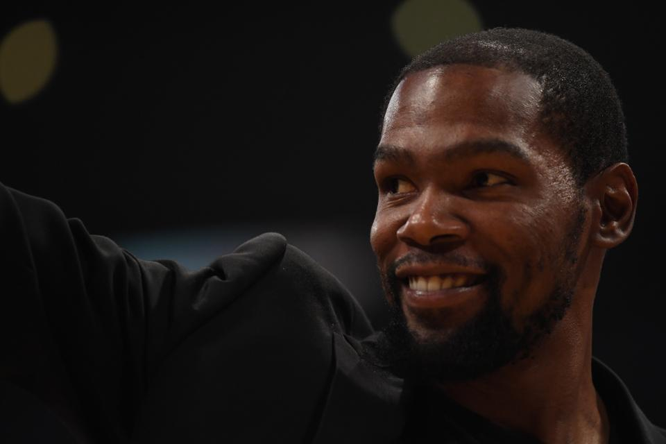 Kevin Durant, basketball player and investor in drone startup Skydio