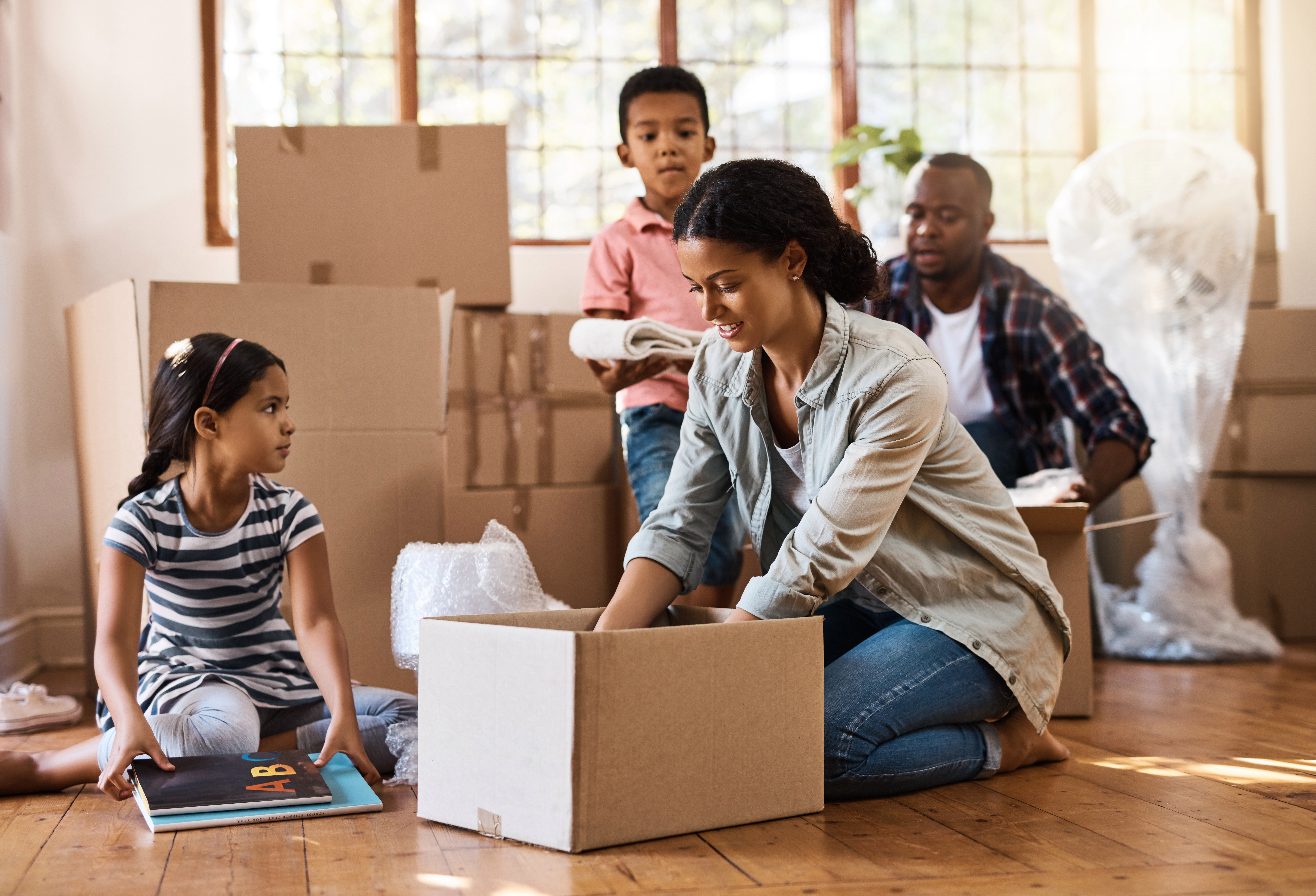 It is an ideal time to move for those looking to upsize for their children