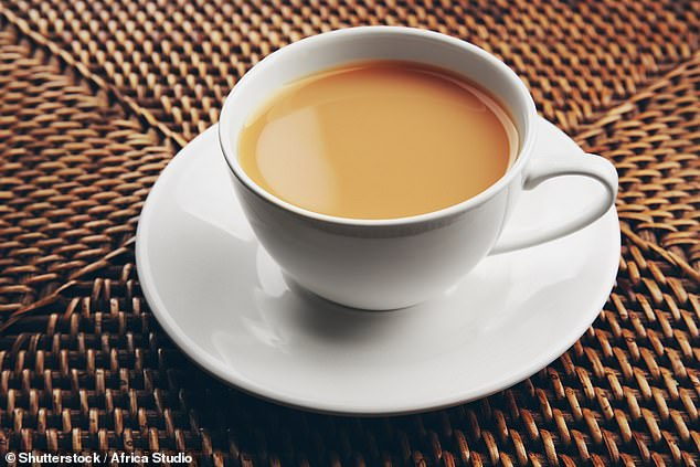 Tea pain: Although there has been a rise of coffee shops, Britons still on the whole prefer a good old cup of tea - whether it be PG Tips, Tetley, Yorkshire Tea, or something else