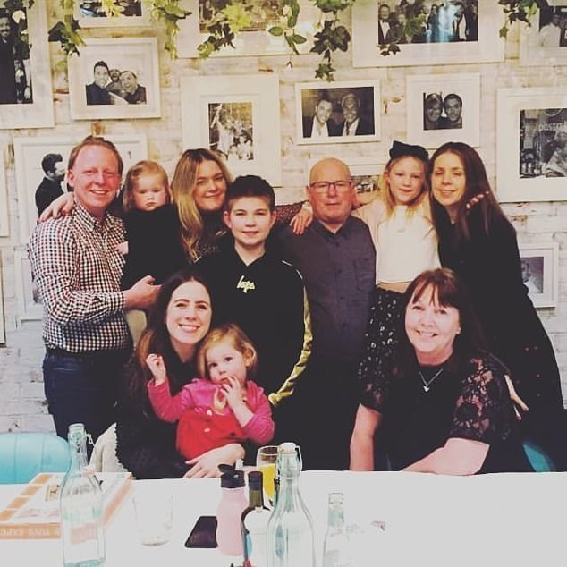 KATIE HIND: Dad says: 'I can never express my gratitude enough - to the NHS staff who saved me, to Charlotte, Sharon, Dani, Charlene and Theresa, the nurses who cared for me, my surgeon, Mr Jorge Mascaro, but most of all, my donor'