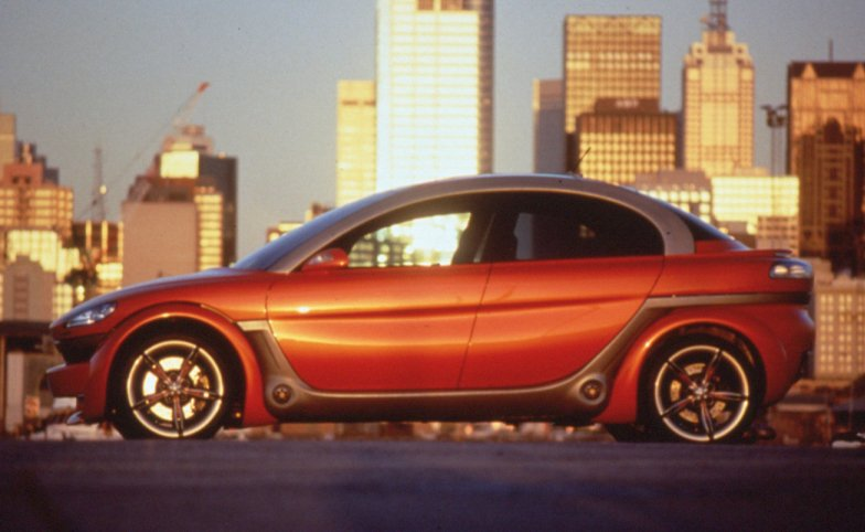 The aXcess Australia car was developed 20 years ago