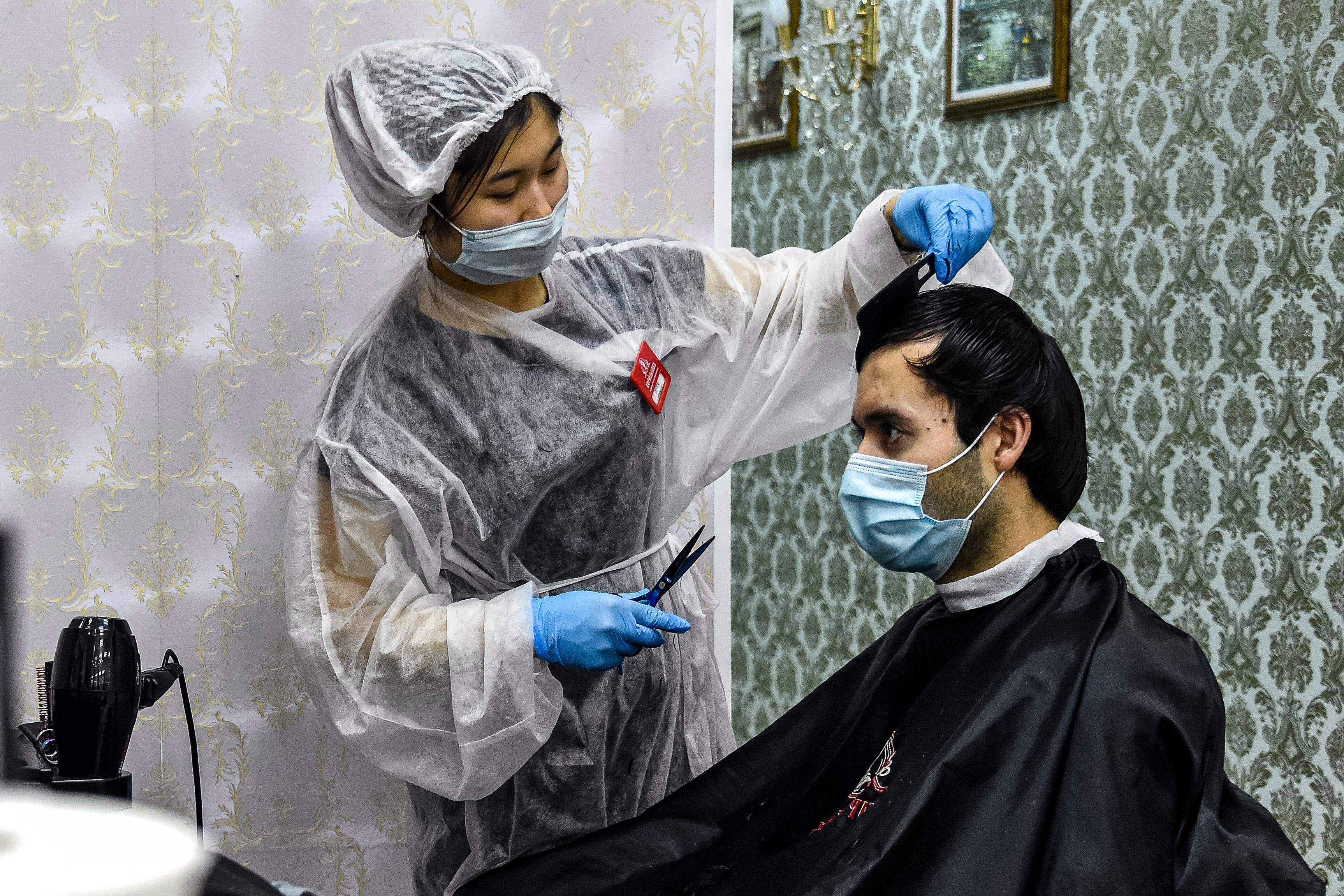 Barber shops in the UK could reopen from July 4