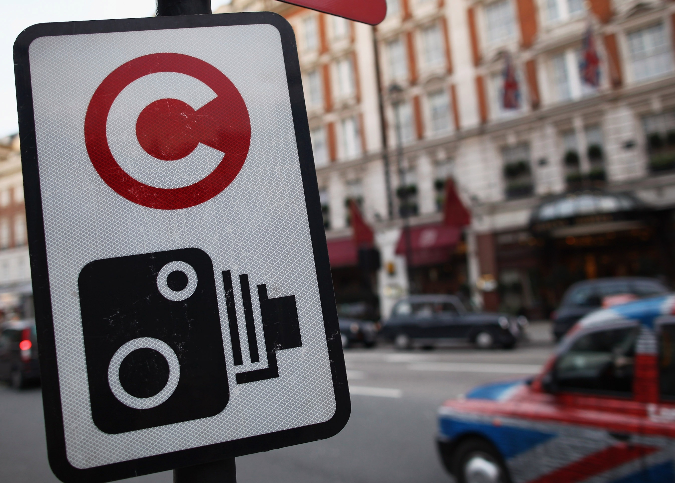The Congestion charge applies seven days a week