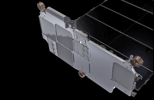 Each satellite has four antennas on board (Picture: Starlink)
