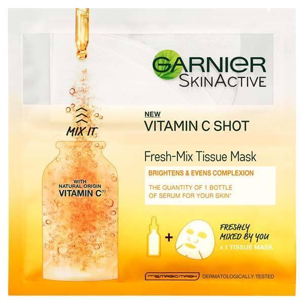 ....when you can grab the Garnier Fresh-Mix Vitamin C Shot face mask for £2.65 at superdrug.com