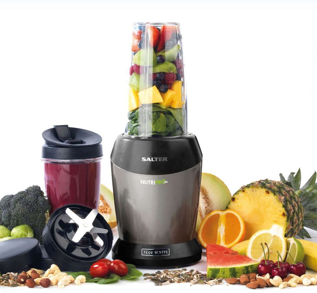 Make delicious summer smoothies while saving £10 on a Salter Nutri Pro blender