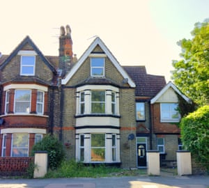 A five-bedroom property 10 minutes from the Margate seafront on the market for £350,000. It is currently split into three flats but would make a large family home.