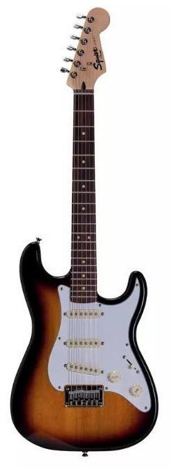 Squier Strat by Fender guitar, £89.99, Argos