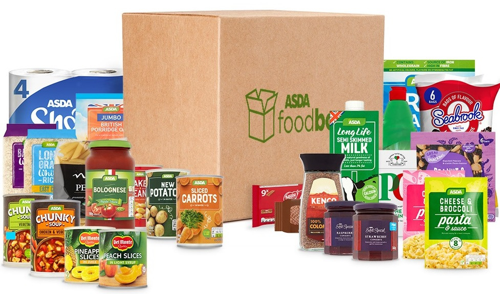 Asda has cut the price of its food box to £25 from £30