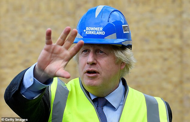Boris Johnson is due to make a speech tomorrow where he is expected to announce a task force called 'Project Speed' that will be dedicated to fast-tracking infrastructure projects