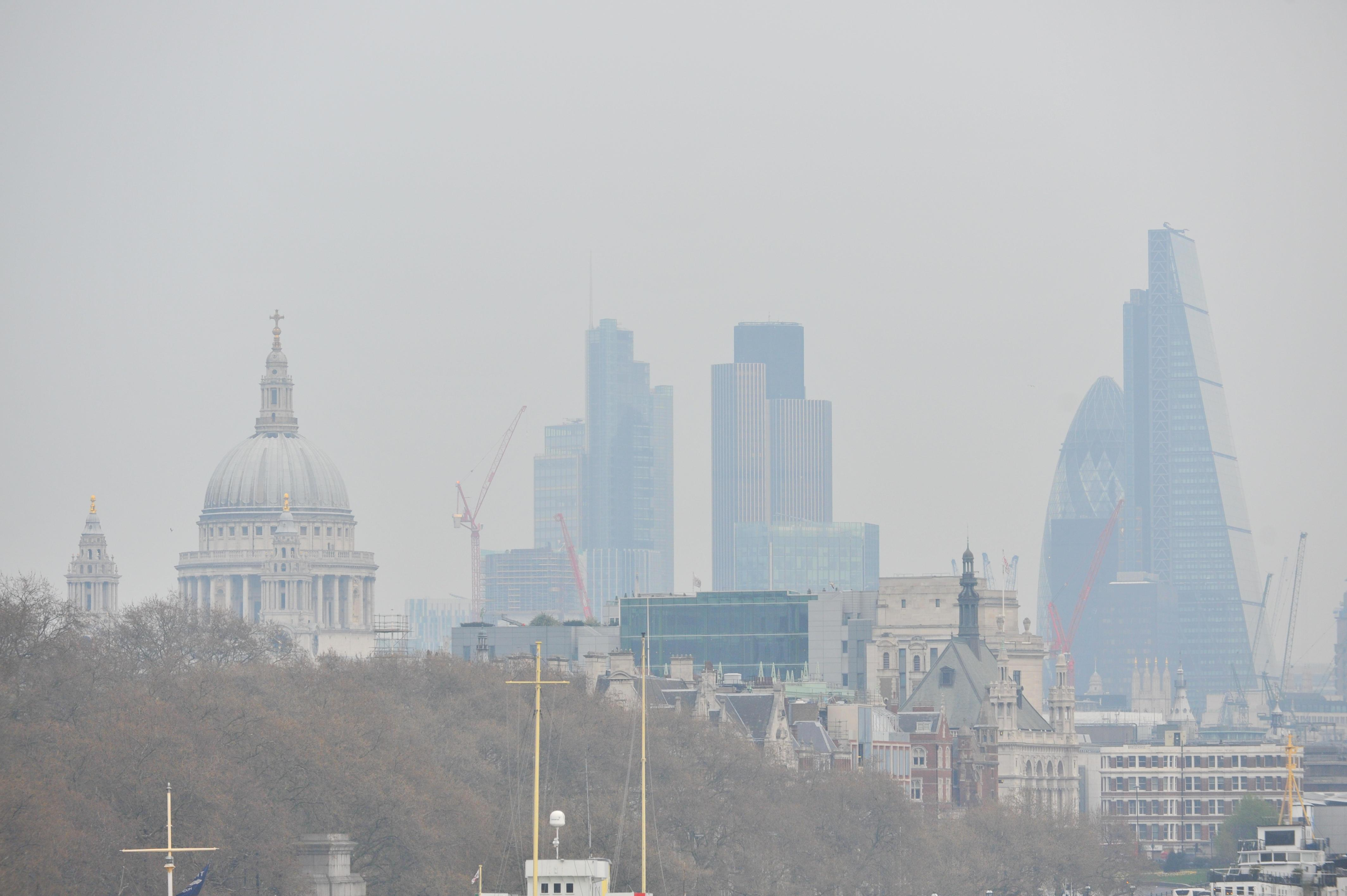 Congestion charges are helping to tackle air pollution, say officials