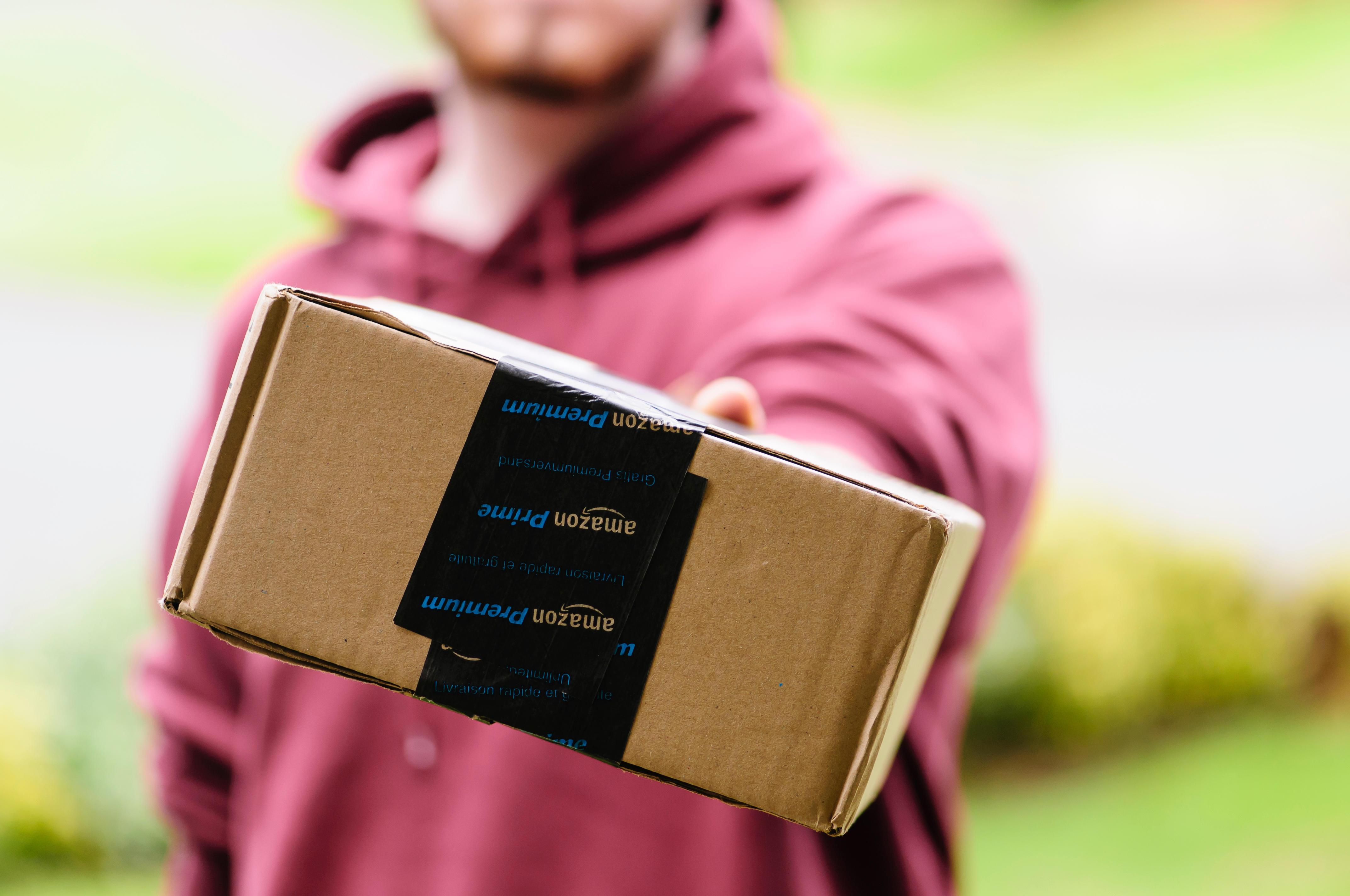 Thank your delivery drivers and postal workers by leaving treats outside your front door