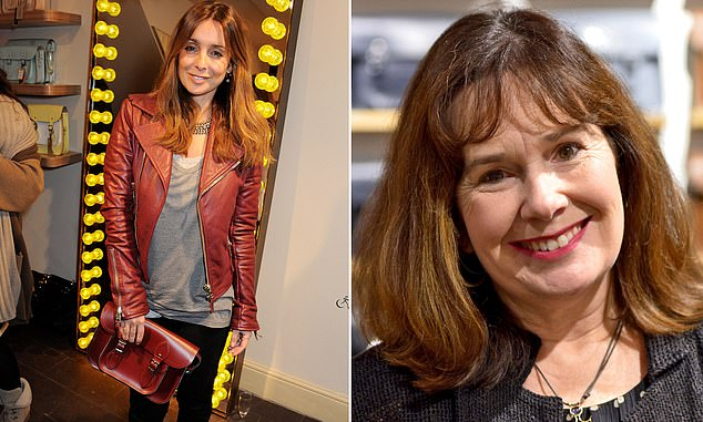 Struggle: The companywas founded in 2008 by Julie Deane (above right) and is a favourite ofLouise Redknapp