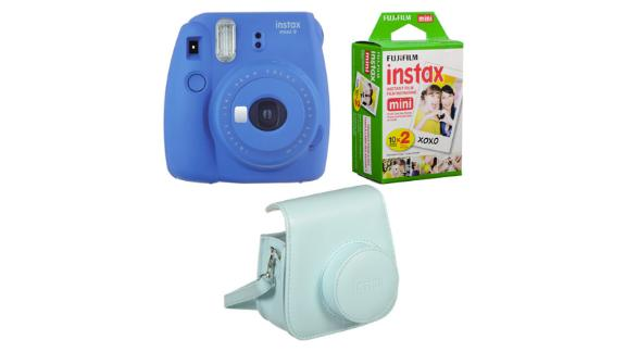 Fujifilm Instax Mini 9 Instant Film Camera Bundle