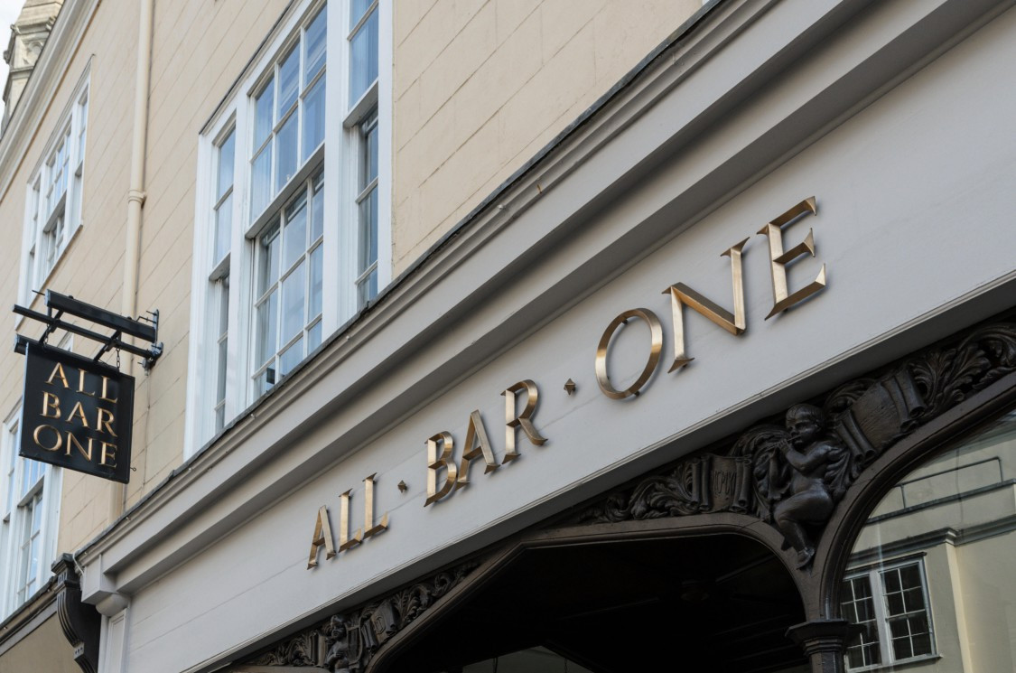 All Bar One is kicking off its reopening with brunch in some locations