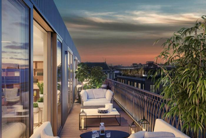 A three-bedroom apartment in Marylebone Square, £6.2m, through MyLondonHome