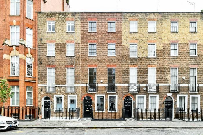 A refurbished four-bedroom Georgian town house in Marylebone, £4m, through Knight Frank