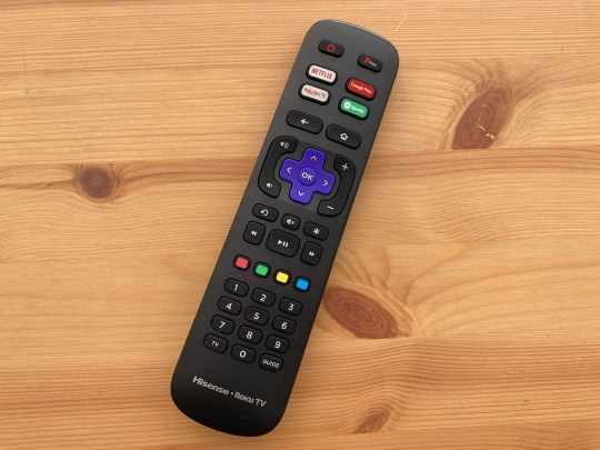 The remote control is light, chunky and comfortable (Metro.co.uk)